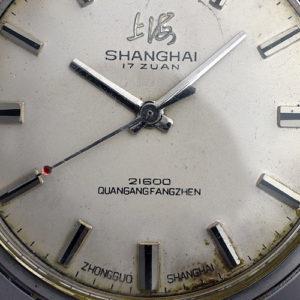 上海(SHANGHAI)」機械腕時計