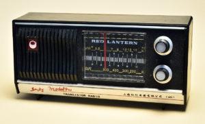 中国上海製ラジオ-紅灯model753