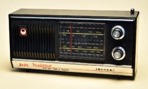 中国上海製ラジオ-紅灯model753F